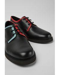 Camper Chaussures en cuir noir pour