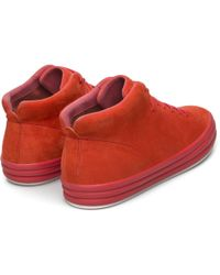 Camper Hoops Trainers - Red