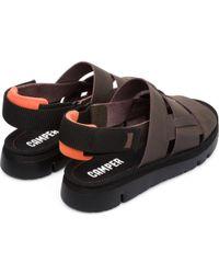 Camper Oruga K100470-002 Sandals - Brown