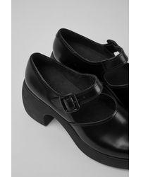 Camper Chaussures en cuir noir