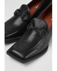 Camper Black Leather Shoes