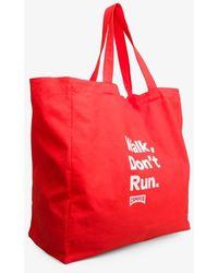 Camper Red Shopping Bag