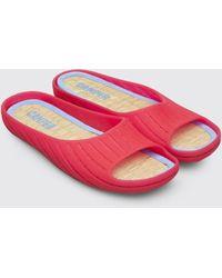 Camper Monomateriaal Sandaal - Rood