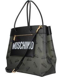 Moschino Shoulder Bags Woman Black
