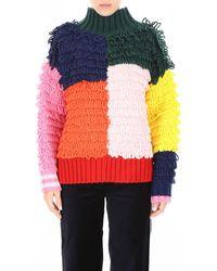 Mira Mikati Patchwork Pullover - Multicolour