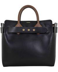 Burberry The Medium Leather Belt Bag - Black