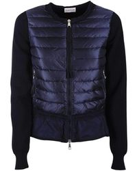Moncler - Jacket With Flounce On The Bottom - Lyst