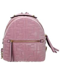 Fendi Backpacks And Bumbags Women Pink - Multicolor