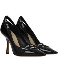 Dior Court Shoes Patent Leather - Black