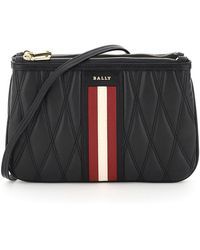 Bally - Drice Stripe Quilted Mini Bag - Lyst