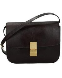 Céline Crossbody Bag Woman Brown - Multicolour
