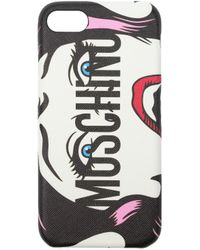 Moschino - Iphone Cover Iphone 7/8 Women White - Lyst