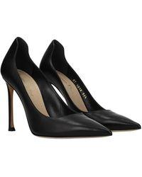 Dior Court Shoes D Moi Leather - Black