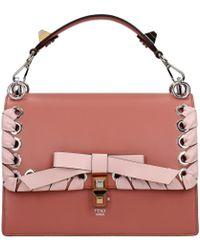Fendi Handbags Kan L Women Pink - Multicolour