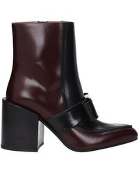 Marni Ankle Boots Women Leather Black Black