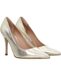 Roberto Festa Court Shoes Leather - Metallic