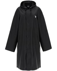 Vetements Raincoat Limited Edition Logo - Black