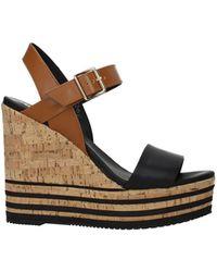 Hogan - Sandals Leather - Lyst