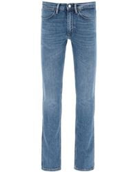 Acne Studios Max Mid Blue Jeans