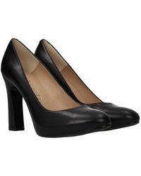 Unisa Court Shoes Patric Leather - Black