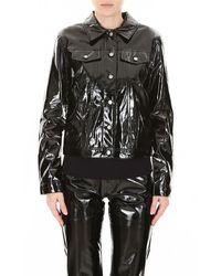 Calvin Klein Vinyl Jacket - Black