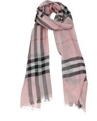 Burberry Foulard Women Pink