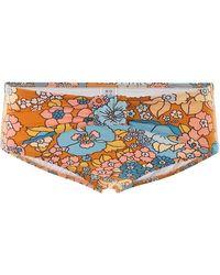 Dodo Bar Or Floral Bikini Bottom - Multicolour