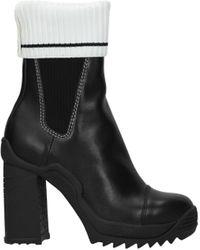 Karl Lagerfeld Black Ankle Boots Voyage
