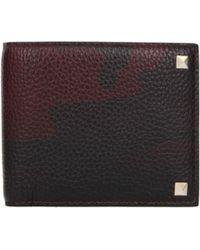 Valentino Wallets Men Red