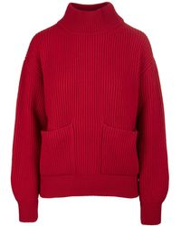 Fedeli Sweaters - Red