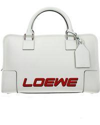 Loewe Handbags Amazona Women White