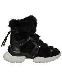 Moncler Ankle Boots Women Black