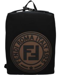 Fendi Backpack And Bumbags Polystrong Men Black