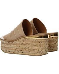 Chloé Slippers And Clogs Woman Beige - Natural