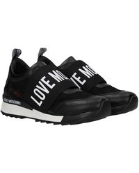 Love Moschino Sneakers Lace - Black