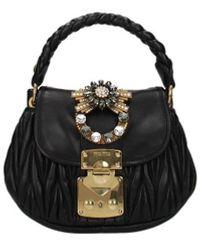 Miu Miu Handbags Women Black