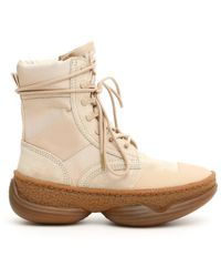 Alexander Wang Lace-up Boots - Natural