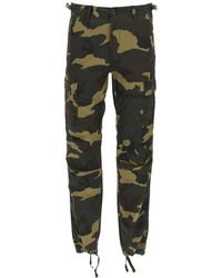 Carhartt Aviation Camouflage Cargo Trousers - Green