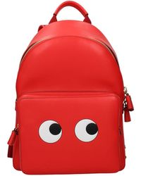 Anya Hindmarch Backpacks And Bumbags Leather - Red