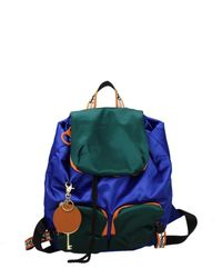 See By Chloé Backpacks And Bumbags Women Blue