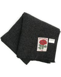 Kent & Curwen Blanket Scarf - Black