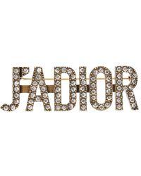 Dior J'a Brooch - Multicolour