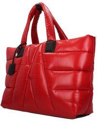 Moncler Red Shoulder Bags
