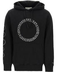 1017 ALYX 9SM Cube Chain Hoodie S Cotton - Black