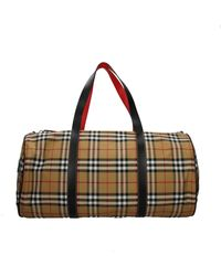Burberry Travel Bags Fabric - Natural