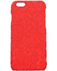 Dolce & Gabbana - Iphone Cover Women Red - Lyst