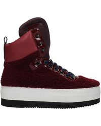 Philippe Model Trainers Adele Fur - Red