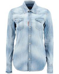 DSquared² Denim Shirt - Blue