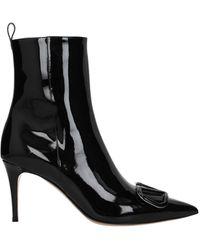 Valentino Garavani Ankle Boots Vlogo Women Black