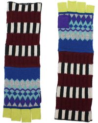 Burberry - Gloves Women Multicolor - Lyst